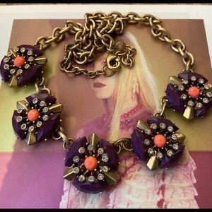 🔥New JCREW Multicolored Disc Designer Necklace